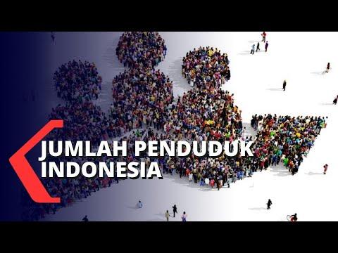 Penambahan Jumlah Penduduk Indonesia dari Sensus Penduduk 2020