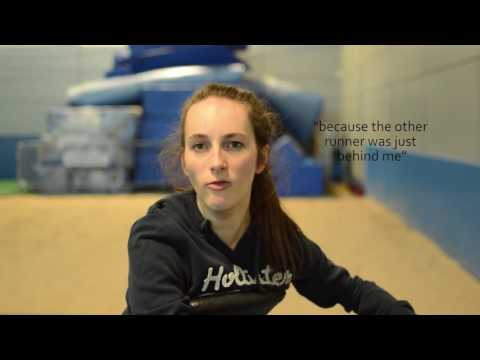 Screenshot of video: Ellie Simpson- World Games Gold Medalist