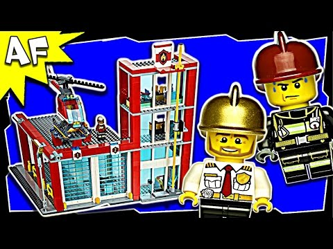 Vidéo LEGO City 60004 : La caserne des pompiers