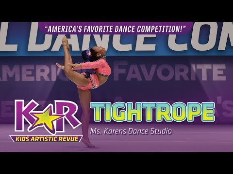 """Tightrope"" from Ms. Karen's Dance Studio"