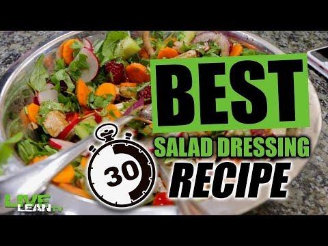 BEST 30-Second Salad Dressing Recipe | LiveLeanTV