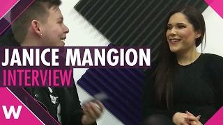 "Janice Mangion ""Kewkba"" - Malta ESC 2017 (INTERVIEW)"