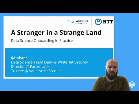 'A Stranger in a Strange Land: Data Science Onboarding In Practice'