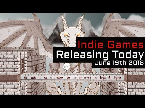 Top 3 New Indie Games Releasing Today - June 19th 2018