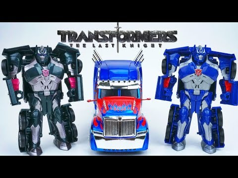 Transformers the Last Knight Optimus Prime All Spark Cube vs Nemesis Prime
