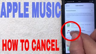 ✅  How To Cancel Apple Music Subscription 🔴