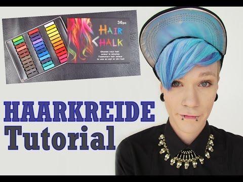 HAARKREIDE [HAIR CHALK] | Tutorial