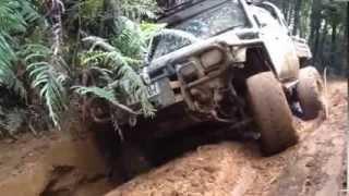 preview picture of video 'offroad adventures New Zealand ,, the door killer rock'