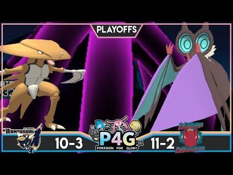 SEMI FINALS! St. Louis Rampardos Vs Durham Druddigons P4G S3 Playoffs | Pokemon Ultra Sun