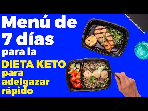 Menú De 7 Días Para La Dieta Cetogénica