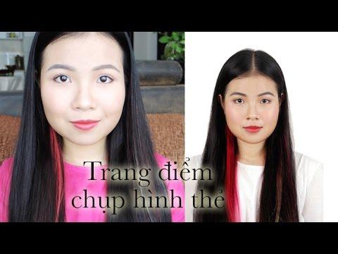 Chụp hình thẻ trang điểm sao cho đẹp? | The perfect makeup of ID photo | NinaCona