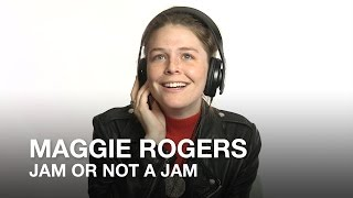 Maggie Rogers plays Jam or Not a Jam