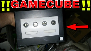 FOUND GAMECUBE!!! Gamestop Dumpster Dive Night #200