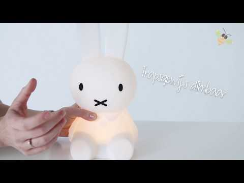 mr maria night light miffy first light 30 cm