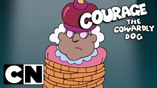 Courage the Cowardly Dog - The Revenge of the Chicken from Outer Space (Clip)
