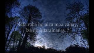 ANDRIAMANITRO - Hasina - KARAOKE