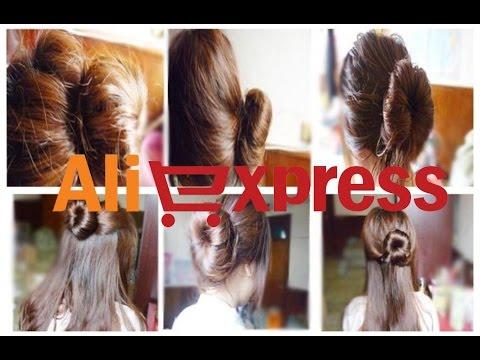 "Аксессуар или заколка для волос (aliexpress) для причёски ""Пучок"""