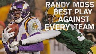 Randy Moss' Best Play Against Every Team | NFL Highlights