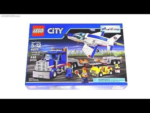 Vidéo LEGO City 60079 : Le transporteur d'avion