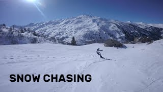 Snowboarder Chasing | FPV Freestyle