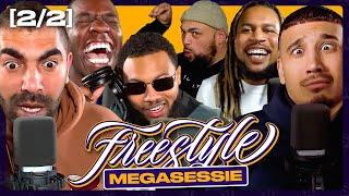 Bokoesam trekt broek uit bij MEGASESSIE PT.2 | SUPERGAANDE FREESTYLE ft. Sjaak Saaff Caza & Ginger تحميل MP3