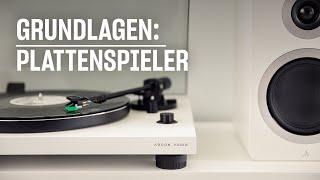Plattenspieler Grundlagen – so easy startest Du!