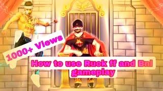 How to use ruok ff and Bnl gameplay in background without any copyright strike