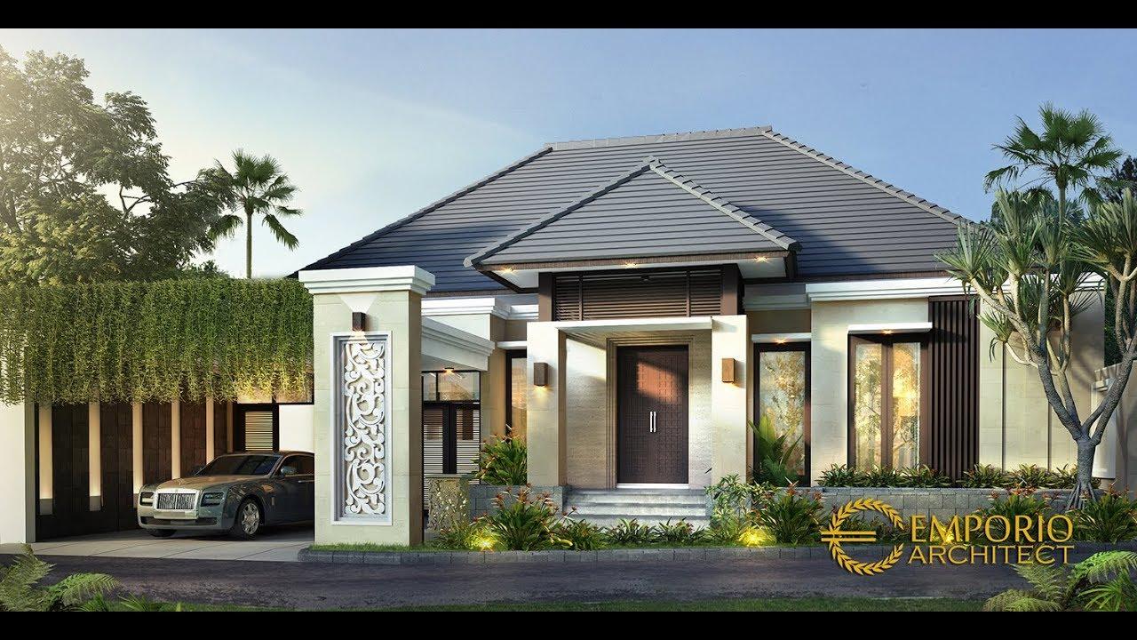 Video 3D Desain Rumah Villa Bali 2 Lantai Bapak Gondo di Jakarta Timur