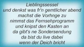 Achim Reichel - Sturmflut Lyrics