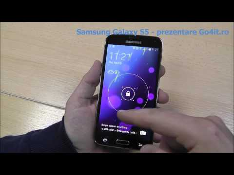 Samsung Galaxy S5 - prezentare video