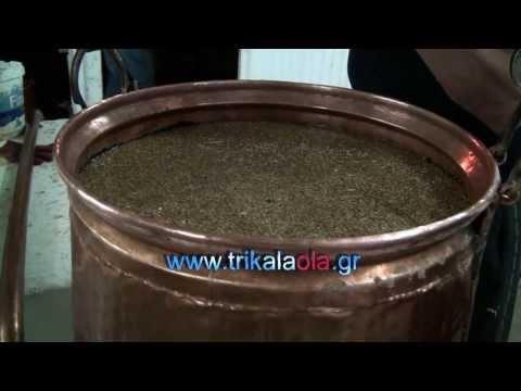 Παραδοσιακό αποστακτήριο τσίπουρου με χάλκινα καζάνια