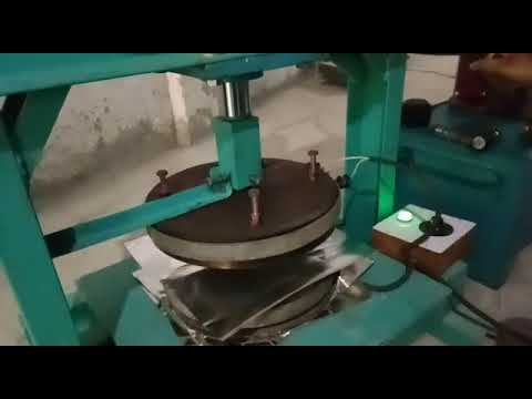 Hand Lever Operated Plate Making Machine