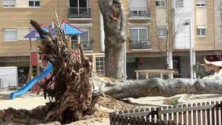 preview picture of video 'Vendaval 2009 - Plaça del Pi, Santa Coloma de Cervelló'