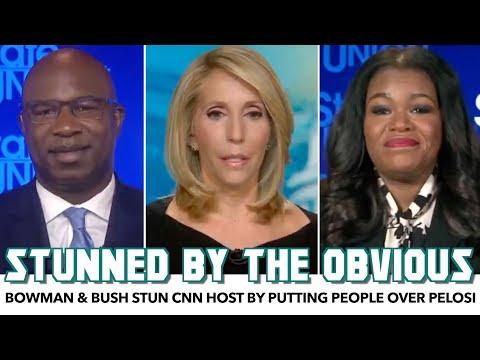 Jamaal Bowman & Cori Bush Stun CNN Host By Putting People Over Pelosi