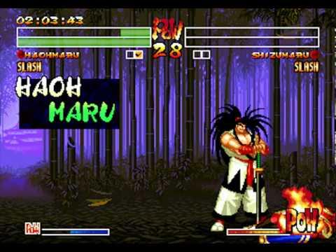 Samurai Shodown IV : Amakusa's Revenge Wii