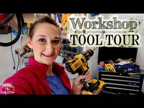 Workshop Tool Tour