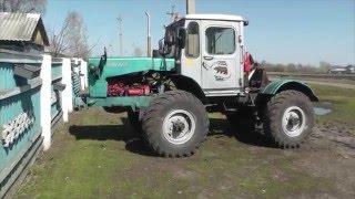 """Трактор самодельный 1, """"Медведь""""/home-made tractor"""