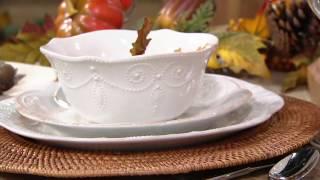 Lenox French Perle 12-pc Dinnerware Set On QVC