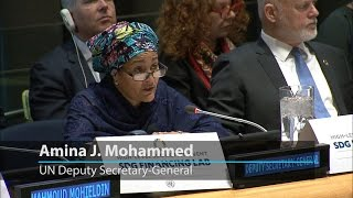 UN deputy chief highlights need for greater synergy in financing sustainable development