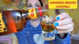 Fireball Cinnamon Whiskey Cocktail | Pinterest Drink #50 | MamaKatTV
