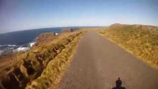 IRELAND CYCLING, Co.Clare, Castle point to Kilkee