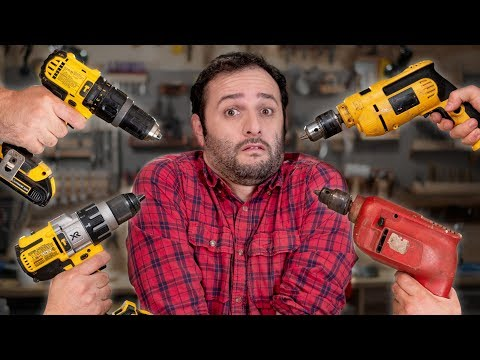 Furadeira a bateria ou com fio? Qual é melhor? #ManualMaker Aula 1, Vídeo 2