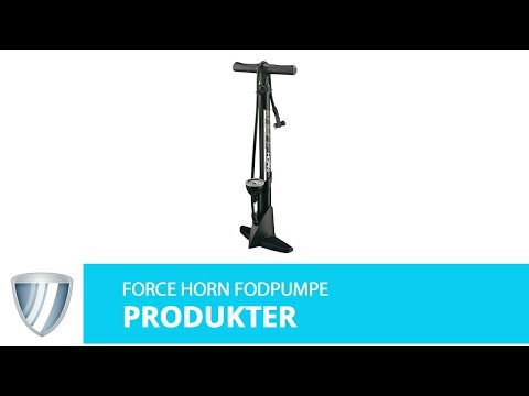 Force Horn 11 bar fodpumpe med manometer video
