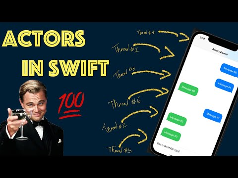 Actors in Swift: Implementing concurrency code is now safer! thumbnail