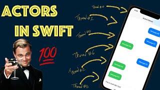 How do Actors work in Swift?