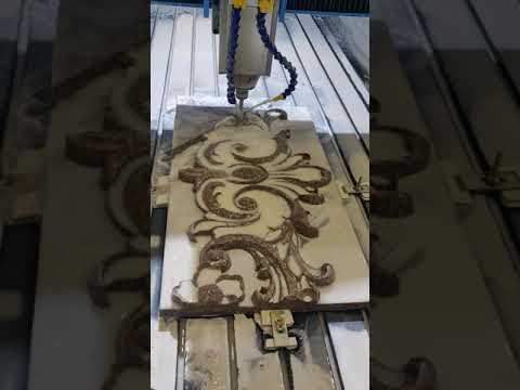 10kW Double Head CNC Stone Engraving Machine