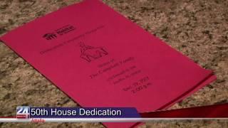 Habitat for Humanity Celebrates 50th House