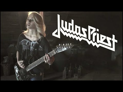 judas priest - leather rebel cover by ada kaczanowska