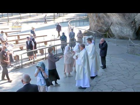 Messe du 28 mai 2020 à Lourdes