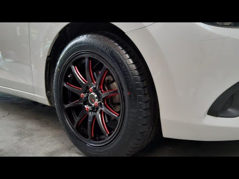 New Mazda 2 ganti velg HSR wheels